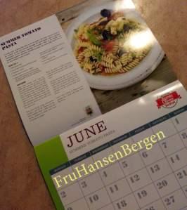 Hver gang Leah Eirin ser kalenderen, roper hun PSSSTTTAAA!!!